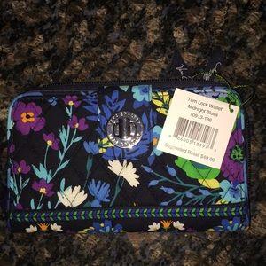 Midnight blue wallet